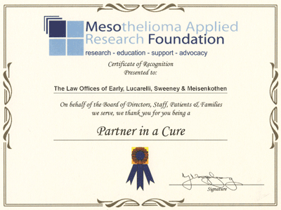 Mesothelioma Applied Research Foundation - Partner in a Cure